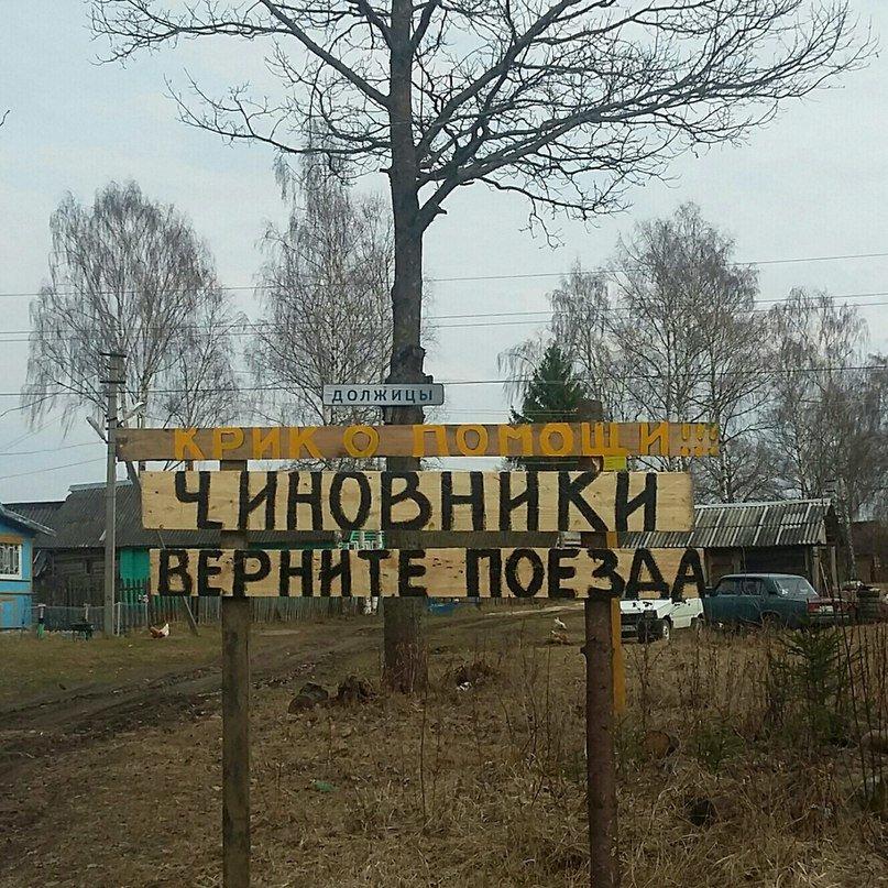 Жители деревни Должицы Дновского района умоляют чиновников (фото) - фото 1