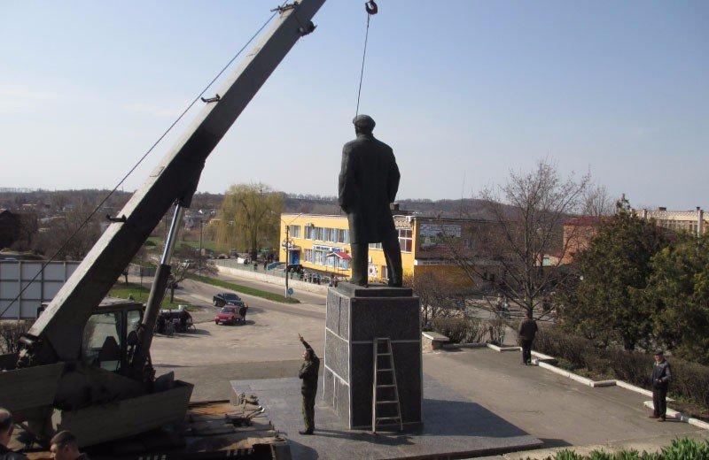 На Полтавщине депутаты областного и районного советов защитили Ленина от декоммунизации (ФОТО), фото-5