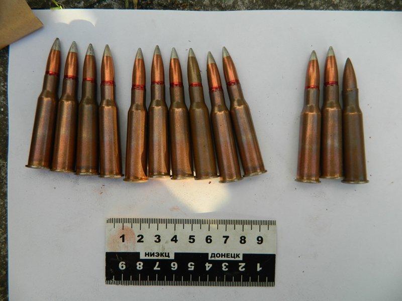 У жителя села под Мариуполем обнаружены боеприпасы (ФОТО) (фото) - фото 1