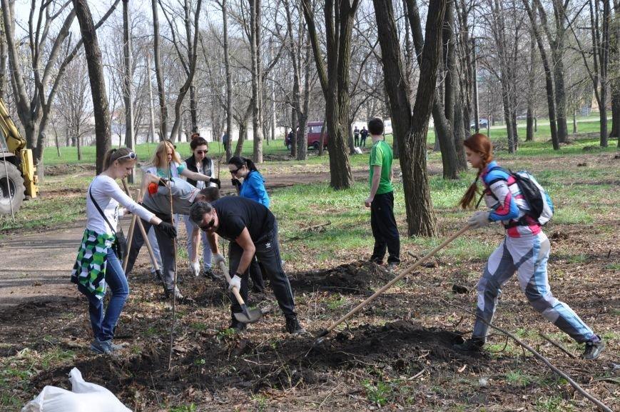 Краматорск присоединился к всемирной акции «Дерево мира», фото-9