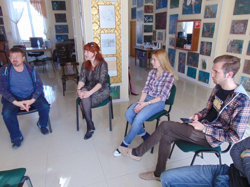 В Мариуполе создавали «Театр Угнетенных» (ФОТО+ВИДЕО) (фото) - фото 4