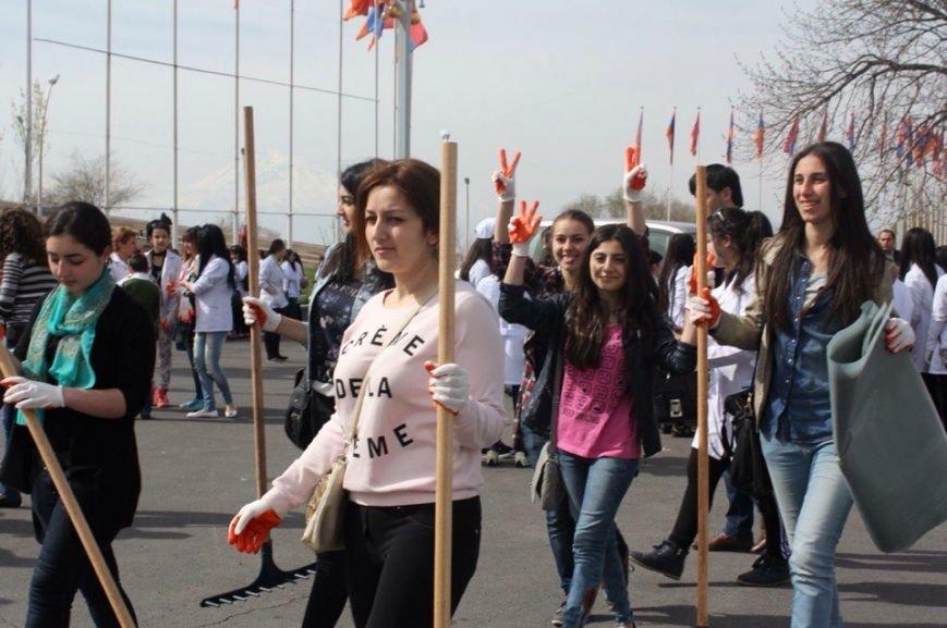 Всеармянский субботник! (фото) - фото 1