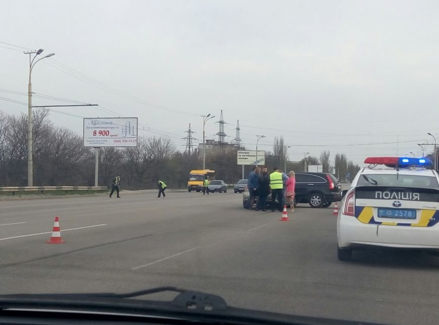 ДТП на Запорожском шоссе: столкнулись две иномарки (ФОТО) (фото) - фото 3