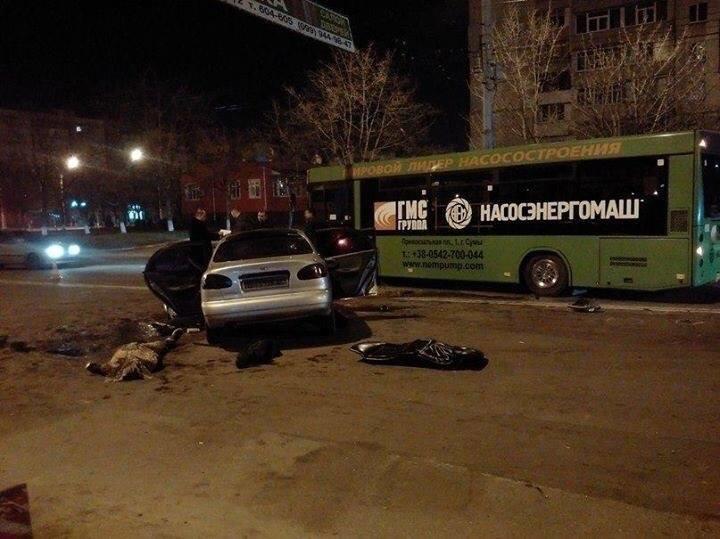 Жуткое ДТП в Сумах: один человек погиб, четверо травмированы (ФОТО), фото-9