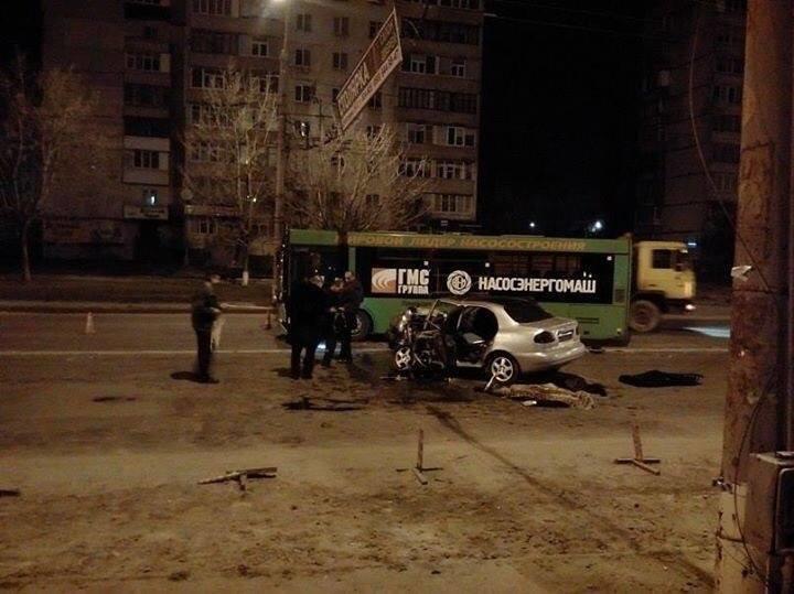 Жуткое ДТП в Сумах: один человек погиб, четверо травмированы (ФОТО), фото-8