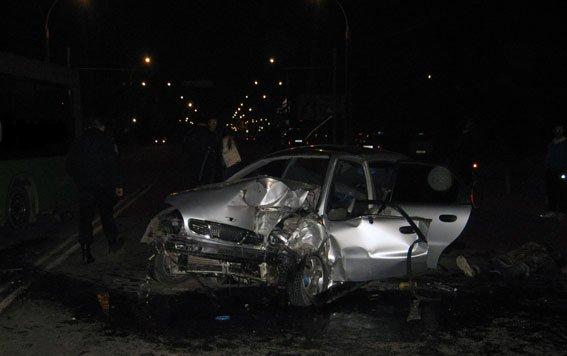 Жуткое ДТП в Сумах: один человек погиб, четверо травмированы (ФОТО) (фото) - фото 1