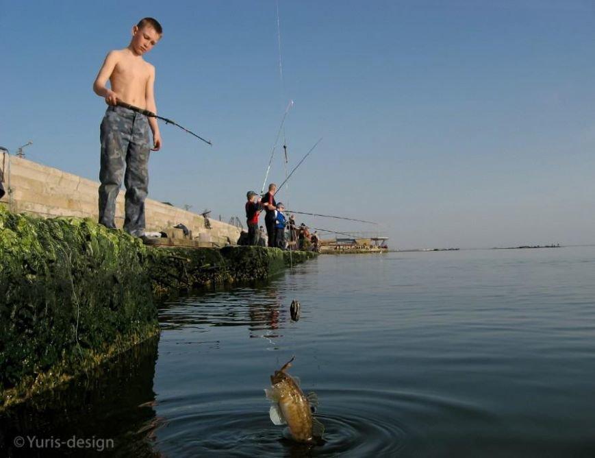 Бердянцы массово вышли на рыбалку (ФОТОРЕПОРТАЖ), фото-2