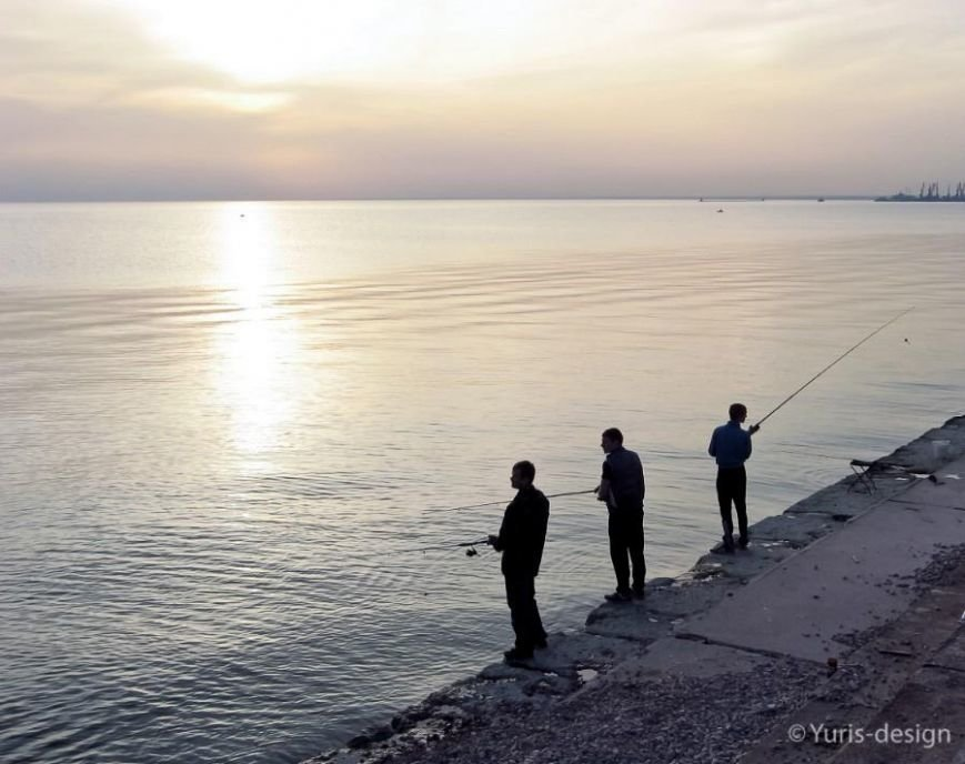 Бердяны массово вышли на рыбалку (ФОТОРЕПОРТАЖ) (фото) - фото 7