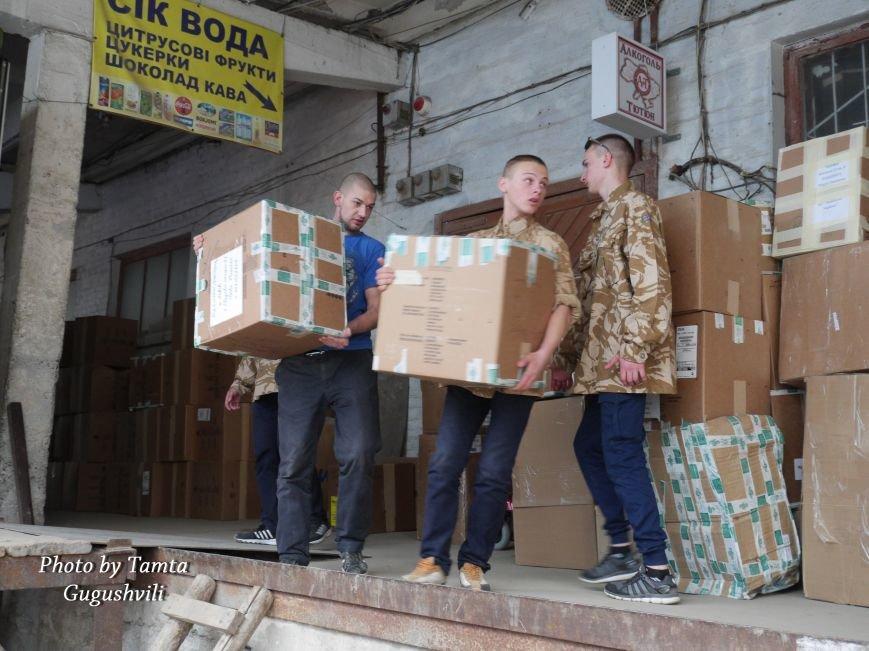 Понад 14 тонн гуманітарного вантажу надіслали зі США до Тернополя (Фото) (фото) - фото 1
