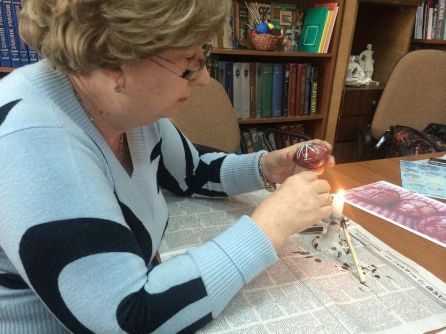 В Мариуполе обучали искусству  росписи пасхального яйца(ФОТО), фото-4