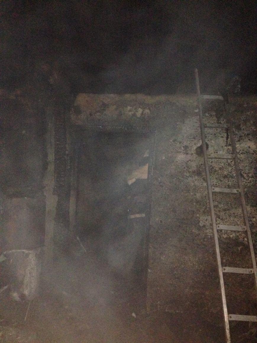 В Кременчуге женщина сама потушила пожар на балконе, фото-1