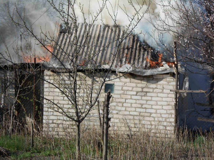 В Северодонецке спасатели тушили пожар в дачном доме (ФОТО) (фото) - фото 1