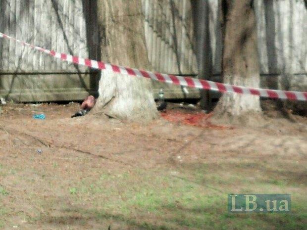 На Оболони прохожие нашли труп в одеяле (ФОТО) (фото) - фото 2