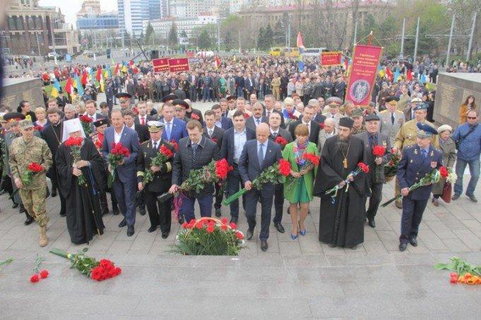 Одесса отметила 72-ую годовщину освобождения, фото-1
