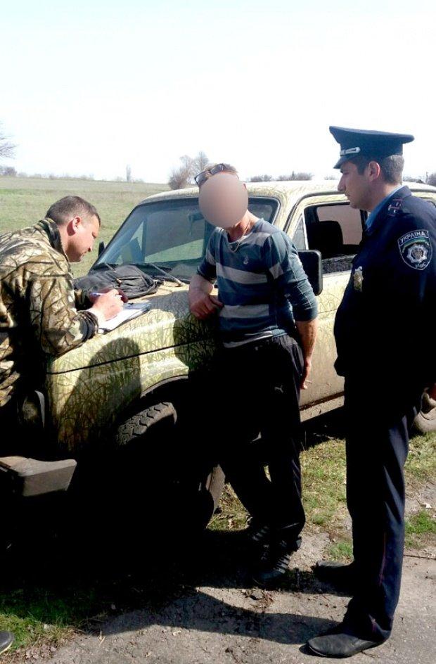 На Полтавщине задержали очередного браконьера (фото) - фото 1