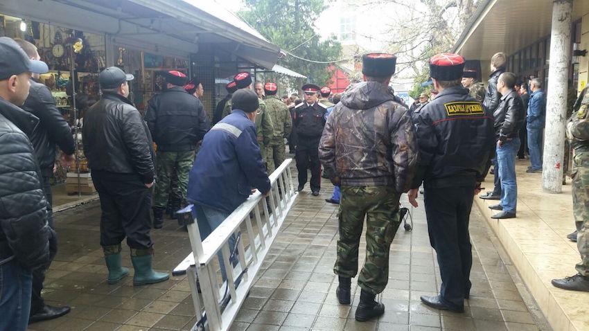 В Анапе на Центральном рынке начинается снос киосков (фото) - фото 2