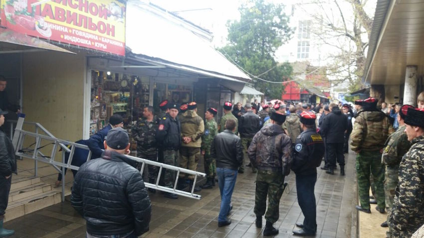 В Анапе на Центральном рынке начинается снос киосков (фото) - фото 1