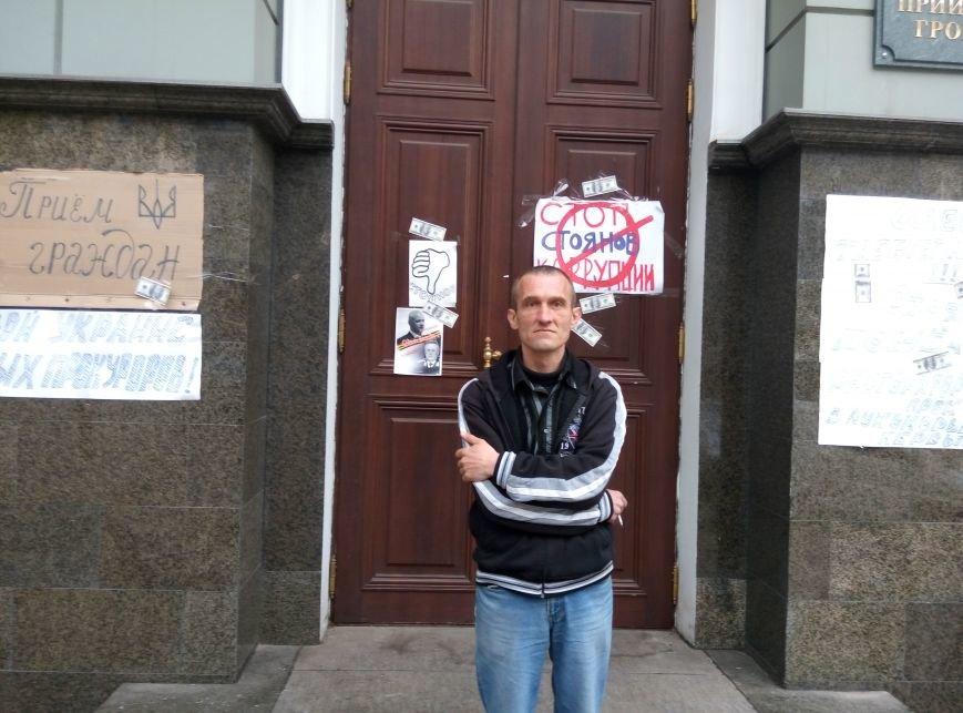 3804dd8ad1a69024fc5b9c8b4d9747b1 13-й день прокурорского майдана в Одессе: Баррикады разобрали, но протест продолжается