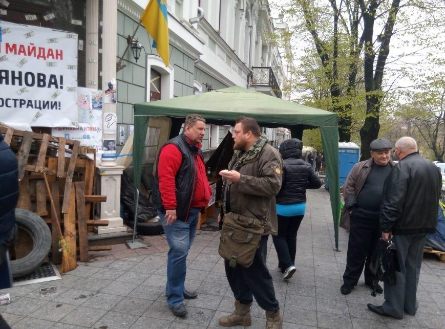 f17833eb38dfc82a8c5511aad866eb7a 13-й день прокурорского майдана в Одессе: Баррикады разобрали, но протест продолжается