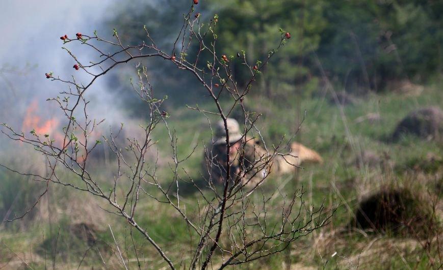 Під Збаражем літали бойові безпілотники, лунали постріли та вибухи (фото) (фото) - фото 1
