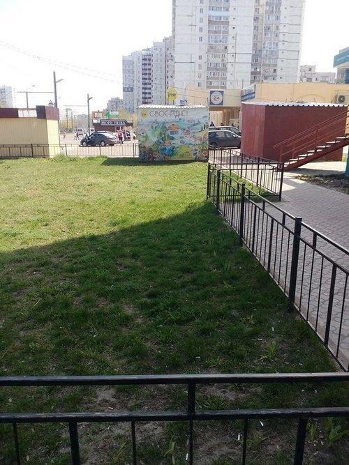 Беспредел от «Трех поросенков» на Левобережном-3: плюс один МАФ, минус газон (ФОТО) (фото) - фото 2