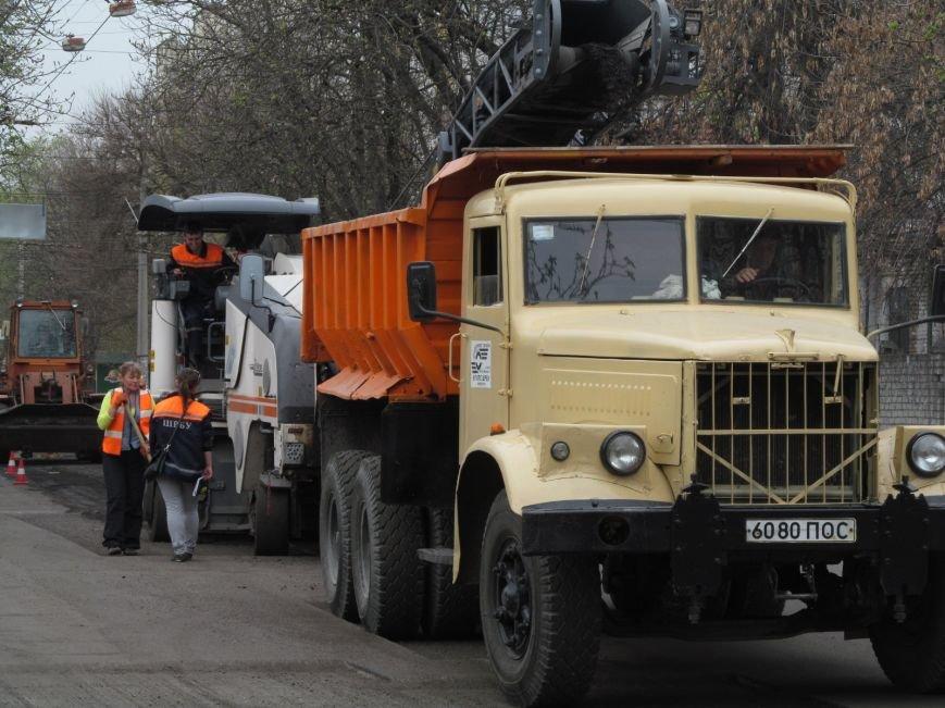 ДРСУ активно ремонтирует дороги в центре Кременчуга. Скоро очередь дойдёт и до окраин (ФОТО), фото-1