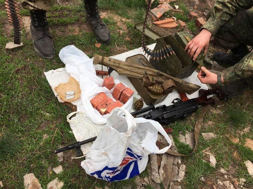 Краматорские пограничники обнаружили схрон диверсантов (ФОТО и ВИДЕО), фото-5