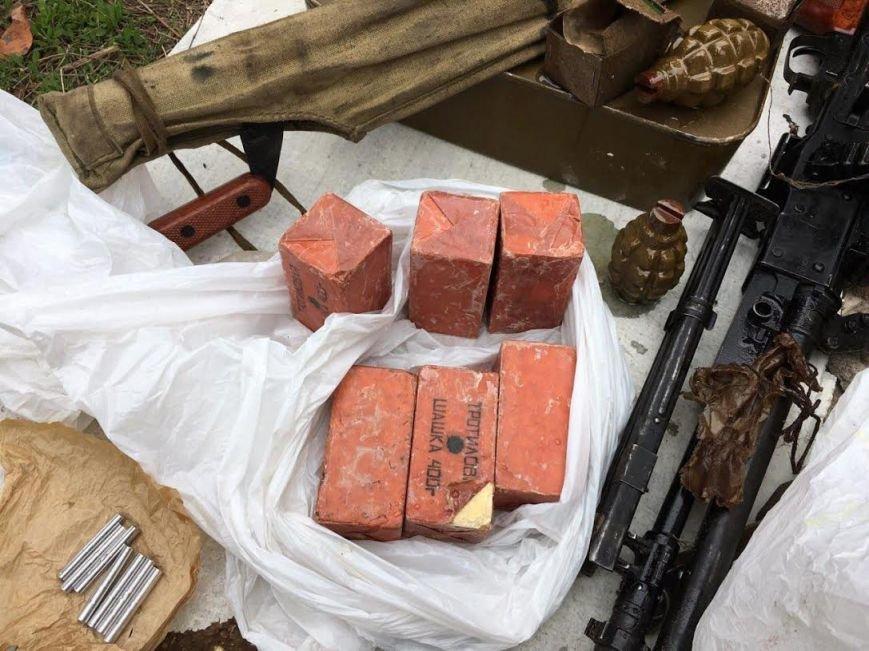 Краматорские пограничники обнаружили схрон диверсантов (ФОТО и ВИДЕО), фото-2
