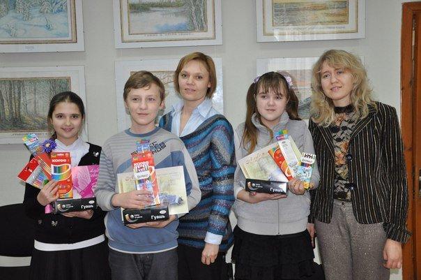 Рисунки детей Макеевки представлены на экспозиции в Москве (фото) - фото 2