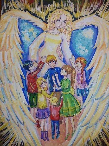 Рисунки детей Макеевки представлены на экспозиции в Москве (фото) - фото 4