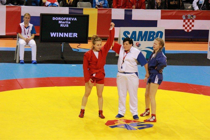 Криворожанка Екатерина Москалева победила на молодежном Первенстве Европы по самбо (ФОТО) (фото) - фото 1