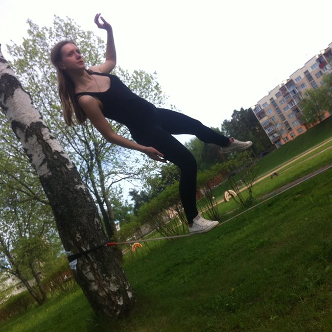«Мой рекорд – 45 метров туда и обратно по ленте»: что такое слэклайн и кто «привел» его в Новополоцк?, фото-2