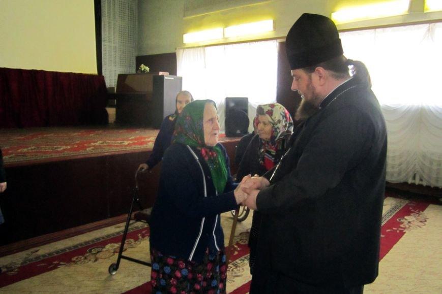 Священник провёл беседу с подопечными Белицкого дома-интерната (фото) - фото 1