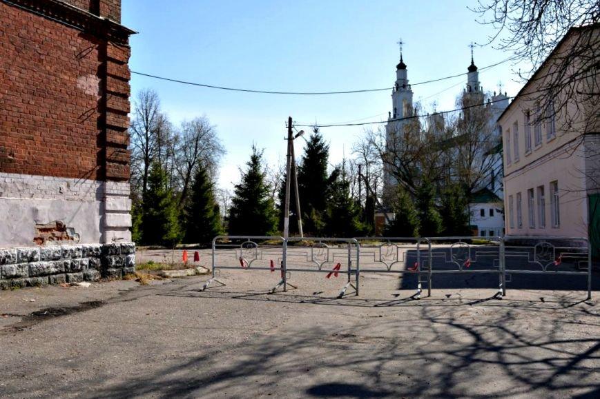 «Территория вокруг Софийского собора заметно преобразится». Как выглядит больничный городок спустя четыре года после юбилея Полоцка, фото-22