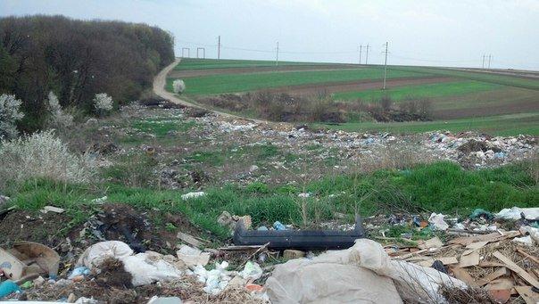 Неподалік Тернополя влаштували стихійне сміттєзвалище (Фото) (фото) - фото 1