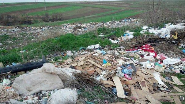 Неподалік Тернополя влаштували стихійне сміттєзвалище (Фото) (фото) - фото 2