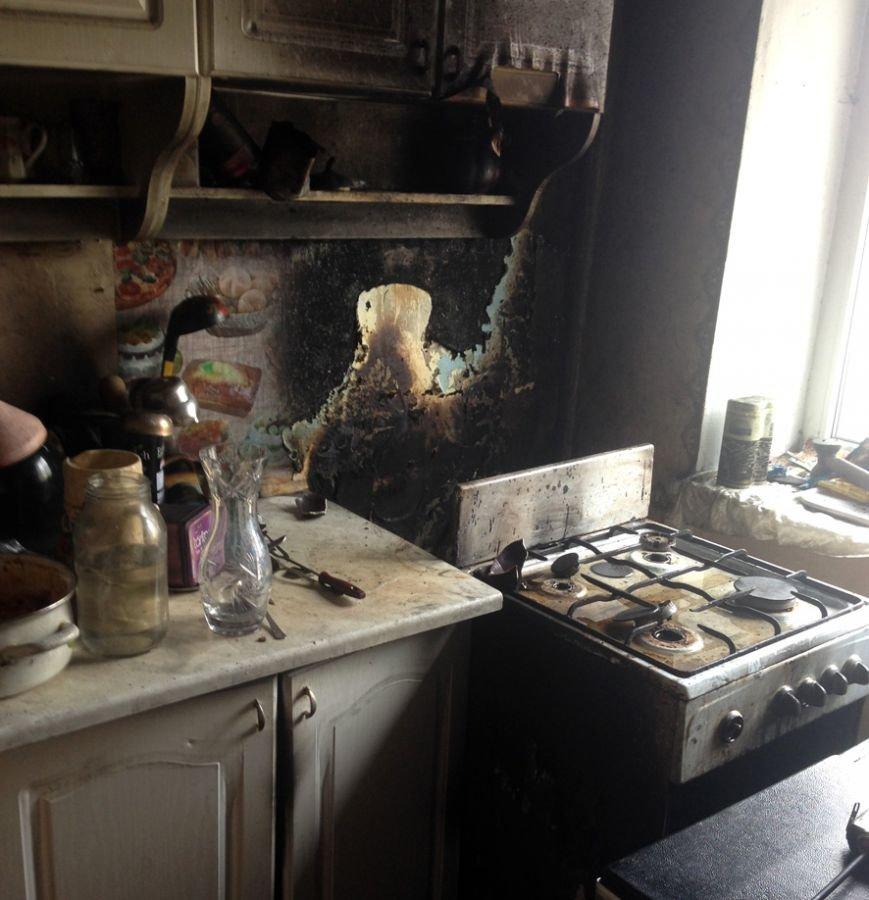 В Кременчуге горела двухкомнатная квартира (ФОТО) (фото) - фото 1