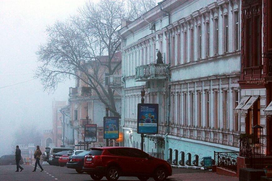Одесса в тумане: красивые снимки центра города (ФОТО) (фото) - фото 1