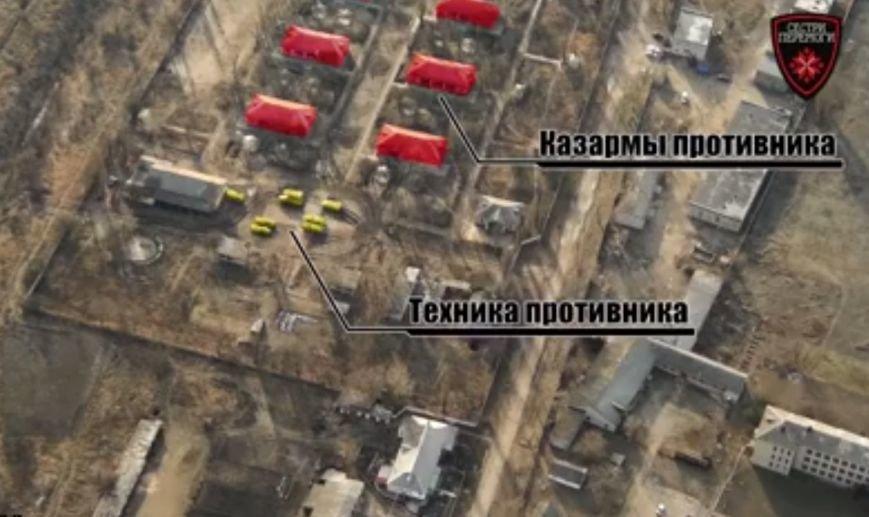 Новоазовске на аграрных базах -  танки, а в детских лагерях - боевики (ФОТО+ВИДЕО) (фото) - фото 1