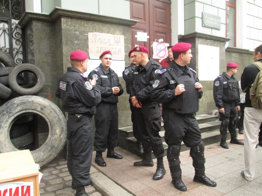 "22d83701b8e8607890651ab3608c59ab Одесская полиция ""утихомирила"" прокурорский майдан"