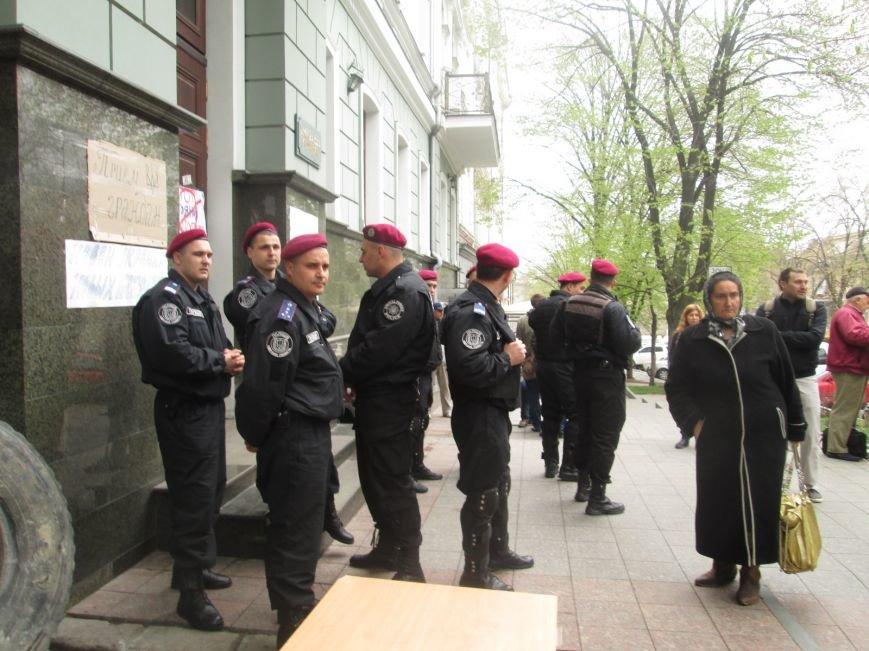 """c0748de8f69dc711f366755752931211 Одесская полиция """"утихомирила"""" прокурорский майдан"""