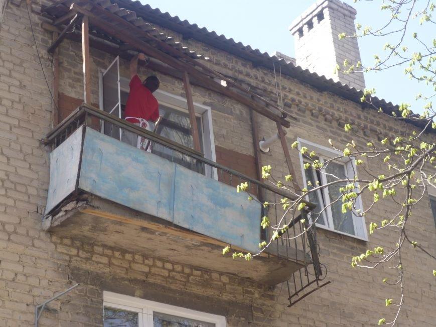 Как движется прогресс с аварийными балконами в центре Красноармейска (Покровска)? (фото) - фото 4