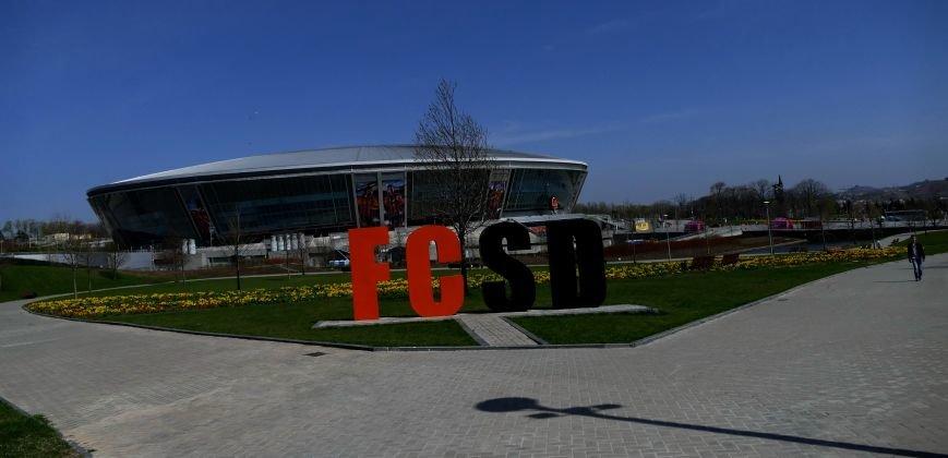 «Донбасс Арена» и ландшафтный парк в лучах апрельского солнца (ФОТО) (фото) - фото 3