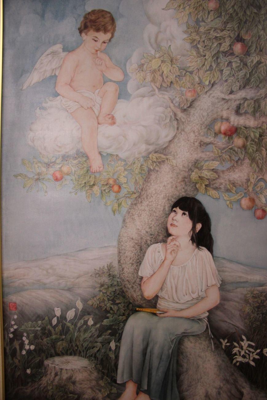 В Днепропетровске открылась нашумевшая выставка китайского сюрреализма: как журналисты искали в филармонии сектантов (ФОТО), фото-11