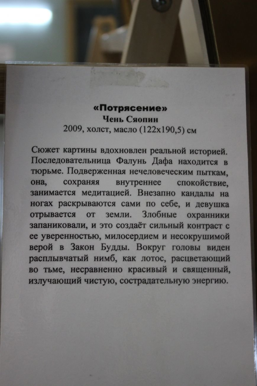 В Днепропетровске открылась нашумевшая выставка китайского сюрреализма: как журналисты искали в филармонии сектантов (ФОТО), фото-23