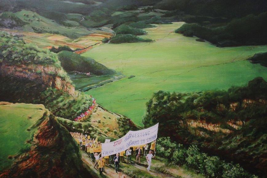В Днепропетровске открылась нашумевшая выставка китайского сюрреализма: как журналисты искали в филармонии сектантов (ФОТО), фото-16