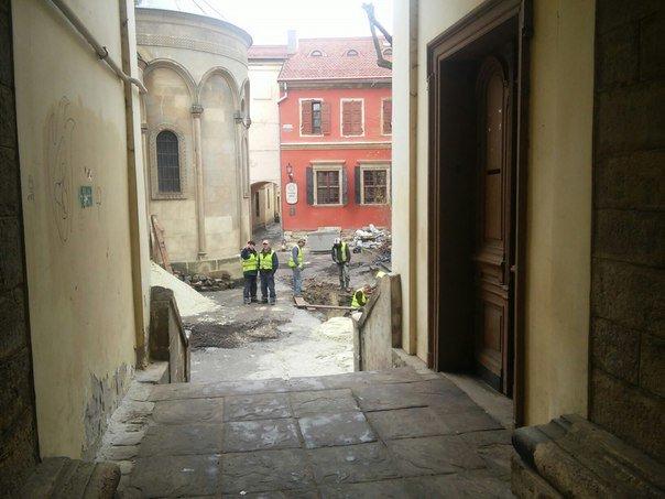 У Львові розпочали реставрувати Вірменське подвір'я (ФОТО) (фото) - фото 1