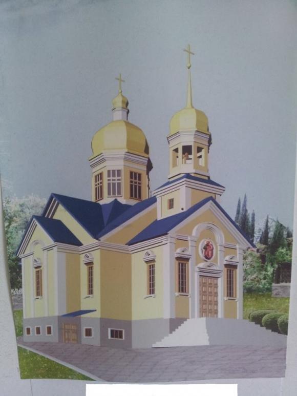 На Тернопільщині триває будівництво церкви на місці храму, який згорів торік на Великдень (фото) - фото 2