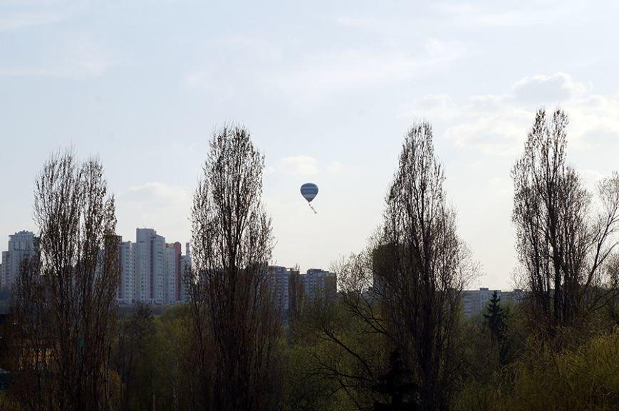 Белгородцы запустили в небо портрет Юрия Гагарина (фото) - фото 6
