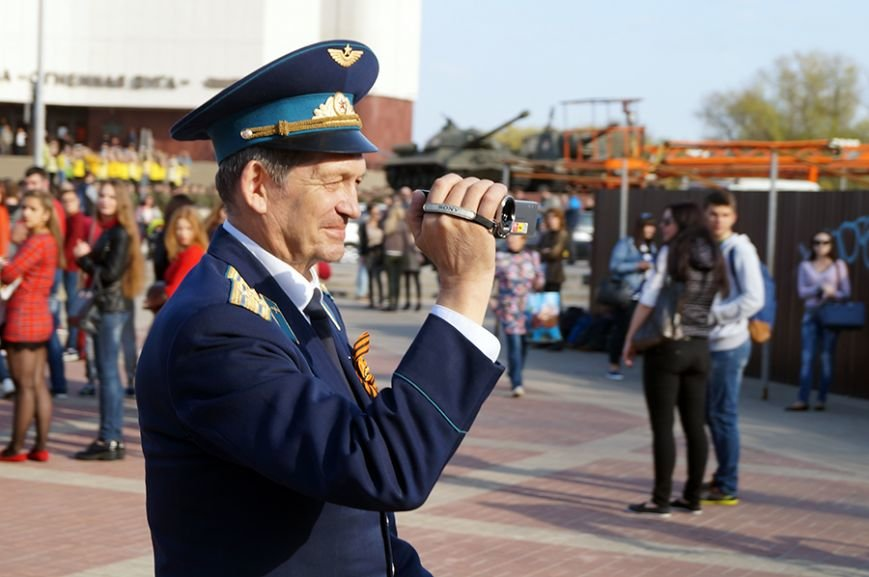 Белгородцы запустили в небо портрет Юрия Гагарина (фото) - фото 3